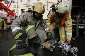 В Петербурге горит здание филиала Ленфильма