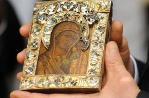 У пенсионерки отобрали икону Божией Матери под угрозой ножа