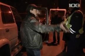 Спящий водитель протаранил четыре автомобиля на аллее Поликарпова