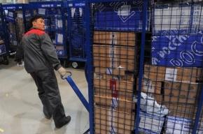 На «Почте России» застряло 500 тонн посылок из интернет-магазинов