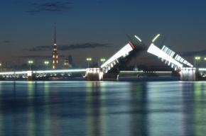 В Петербурге ночью разведут сразу пять мостов
