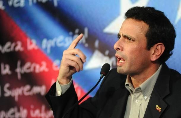 Каприлес требует пересчета каждого голоса на выборах президента Венесуэлы