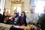 Отпевание Алексея Балабанова: Фоторепортаж