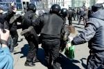 Фоторепортаж: «Первомай в Петербурге»