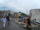 Фоторепортаж: «Ураган в городе Ефремов Тульской области»