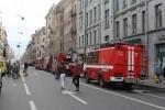 Пожар на Петроградской стороне: Фоторепортаж
