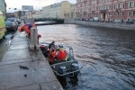 Автомобиль упал в реку: Фоторепортаж