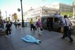 Труп на Невском проспекте: Фоторепортаж