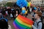 Фоторепортаж: «ЛГБТ-митинг на Марсовом поле-2»