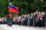 Развод почетного караула в Петропавловской крепости: Фоторепортаж