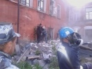 обрушение в библиотеке в Кунгуре: Фоторепортаж