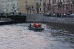 Фоторепортаж: «Автомобиль упал в реку»