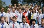 Фоторепортаж: «Медведев в Орленке»
