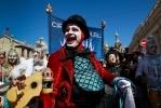 Шествие Цирк дю Солей, 8 мая 2013: Фоторепортаж