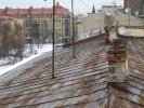 Крыша дома № 9 по улице Восстания: Фоторепортаж