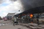 Пожар в Невском районе, Челиева: Фоторепортаж