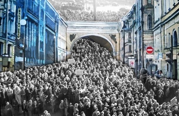 «Мой район» и «Красивый Петербург» протестировали Большую Морскую: должна ли она стать пешеходной?