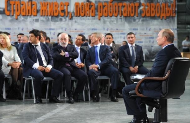 Путин не спешит амнистировать предпринимателей