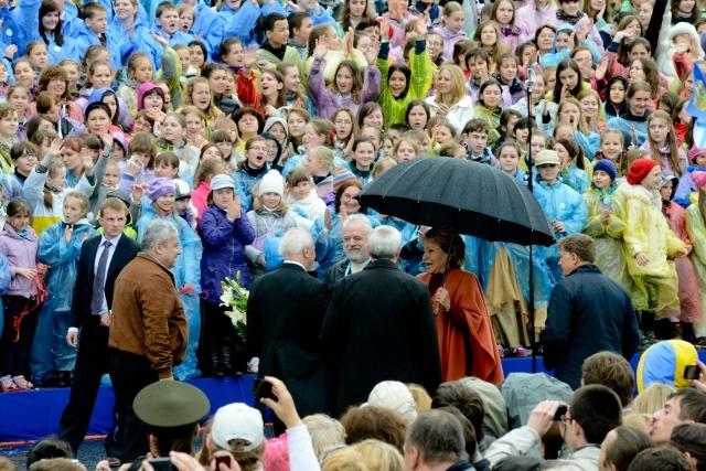 Хор из 4000 человек : Фото