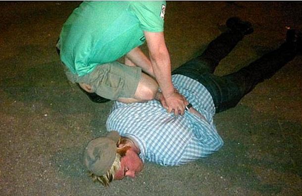 Операция по задержанию сотрудника ЦРУ в Москве. Фото предоставлено ФСБ: Фото