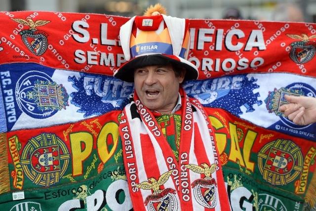 Бенфика-Челси, финал Лиги Европы: Фото