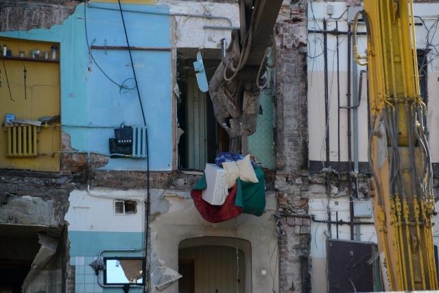 Дом на Лиговском демонтаж: Фото
