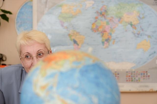 Учитель географии Ядвига Станиславовна: Фото