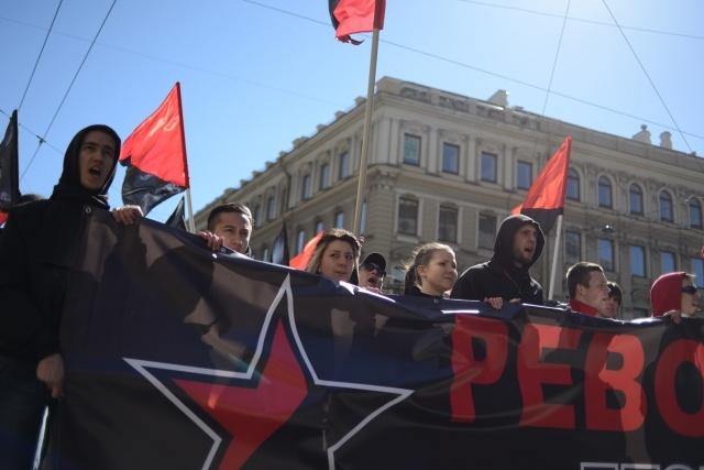 Первомай в Петербурге: Фото