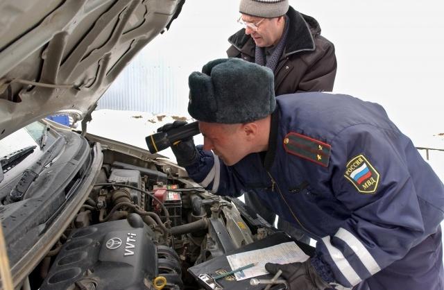 Регистрация автомобилей в ГИБДД: Фото