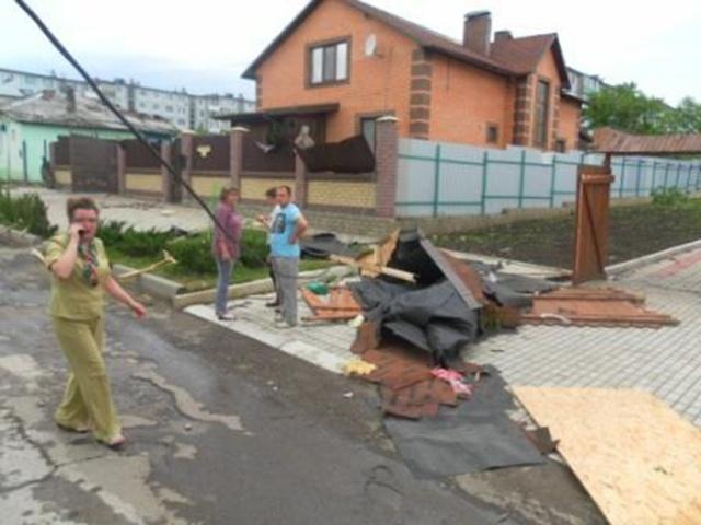 Ураган в Тульской области 22.05.2013: Фото