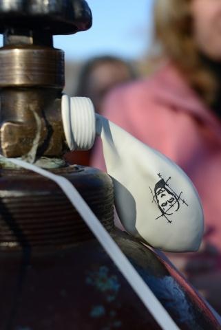 Митинг на Марсовом поле в годовщину событий на Болотной площади: Фото