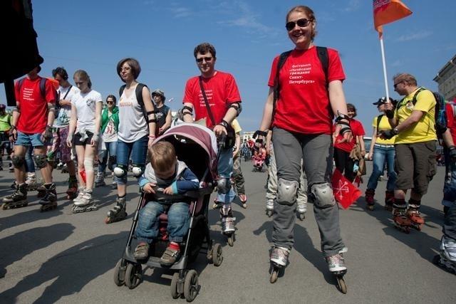 Пробег роллеров-2013: Фото
