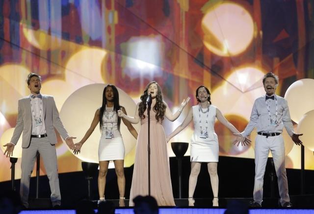Дина Гарипова репетиция Евровидение 2013: Фото