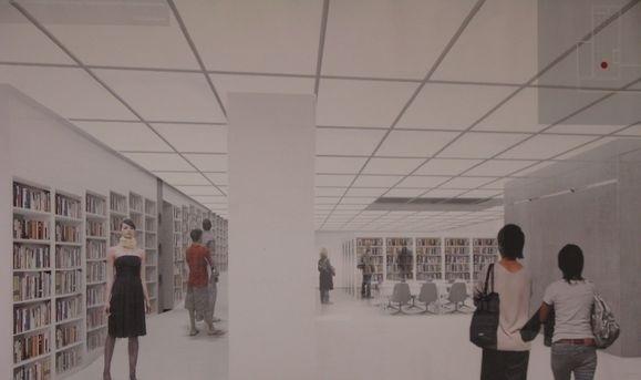 Библиотека Маяковского, реконструкция: Фото