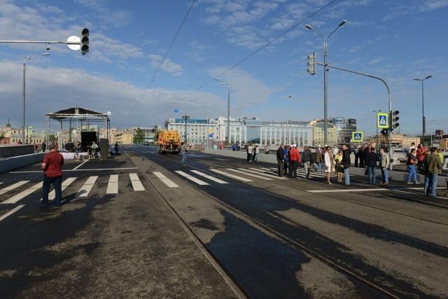 Пироговская набережная открылась : Фото