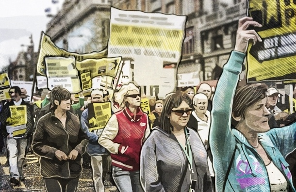 Почему митинги протеста в России теперь такой отстой