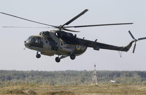 В Иркутской области разбился вертолет с 10 людьми на борту