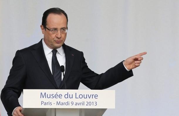 Президент Франции Франсуа Олланд подписал закон об однополых браках
