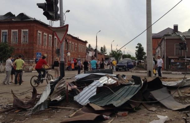 Ураган в Тульской области и его последствия. ФОТО. ВИДЕО.