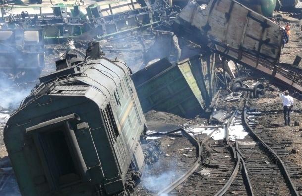 Более 1320 т металлолома вывезено из Белой Калитвы, где взорвался поезд