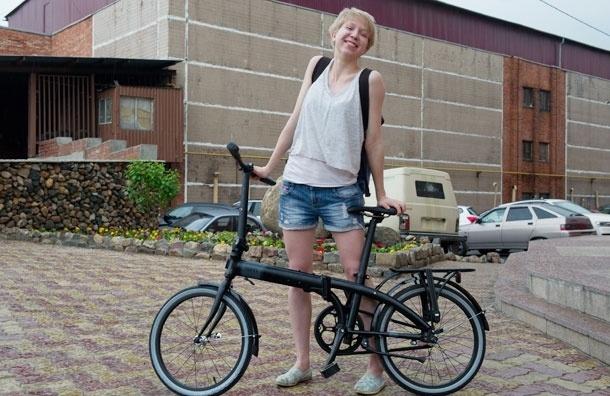 Как я делала тест-драйв складного велосипеда