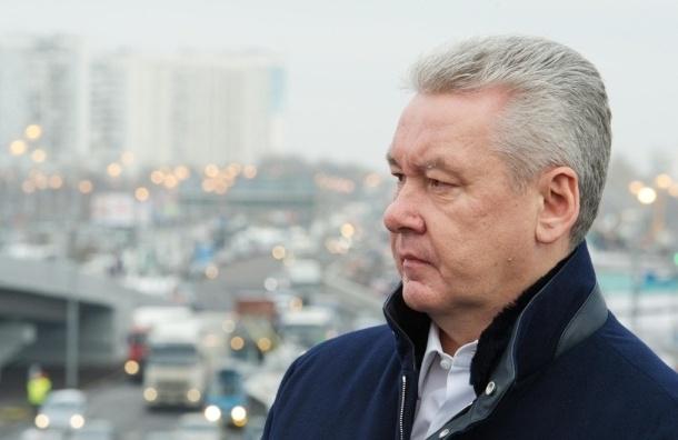 Собянин открыл движение по новым транспортным тоннелям на Каширском шоссе в Москве