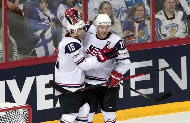 В 1/4 финала чемпионата мира по хоккею Россия сыграет с США