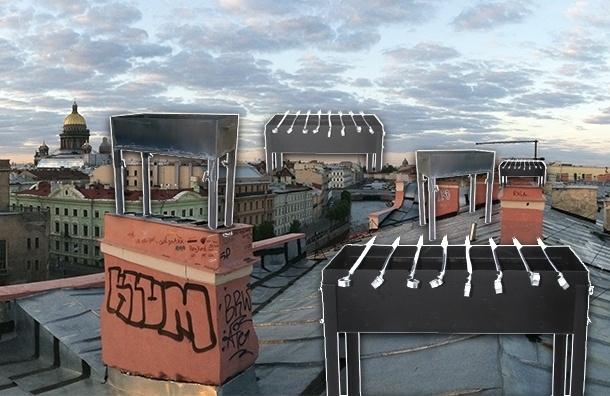 Новый петербургский тренд: шашлыки в зоне жилой застройки