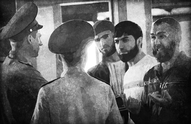 Герман Садулаев: Пускай в миграционном патруле ходят футбольные фанаты, а не клоуны-казаки