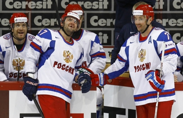 Победив словаков, российские хоккеисты досрочно вышли в 1/4 финала