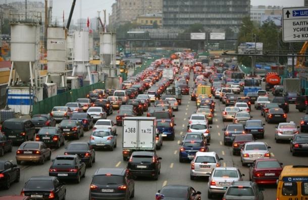 Ремонт дорог Москвы по выходным будут останавливать ради дачников.