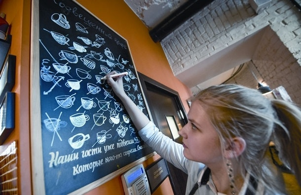 «Подвешенного» кофе в Москве почти нет
