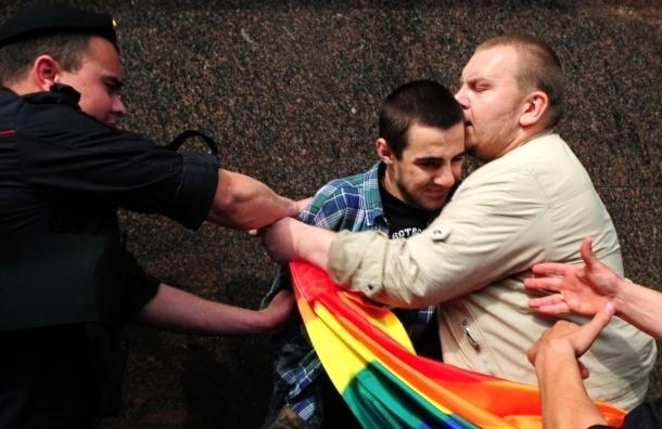 Националисты напали на геев в гайд-парке в центре Москвы