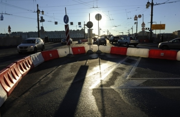 Названо точное время открытия Дворцового моста в Петербурге